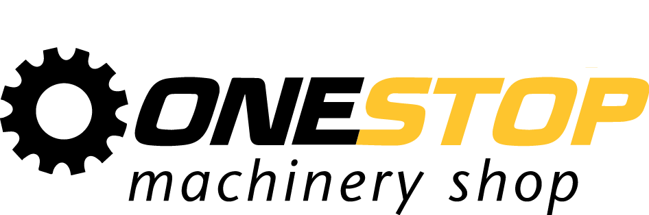 Onestop machinery shop logo
