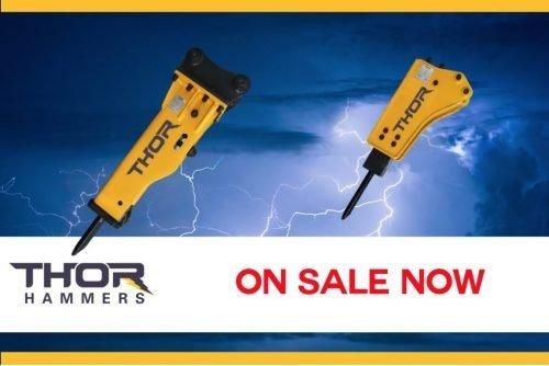 Thor Hydraulic Hammer Sale